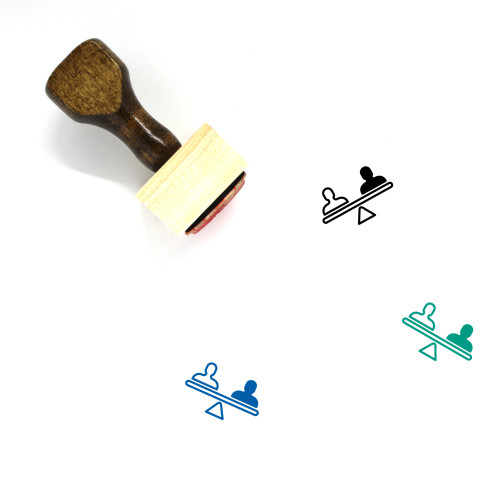 Rights Wooden Rubber Stamp No. 1