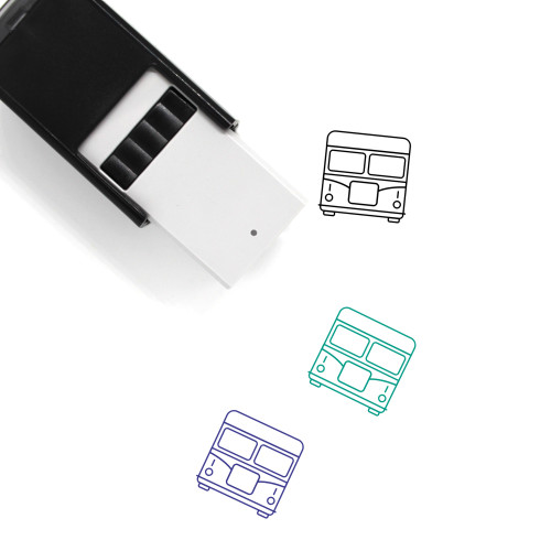 Bus Self-Inking Rubber Stamp No. 29