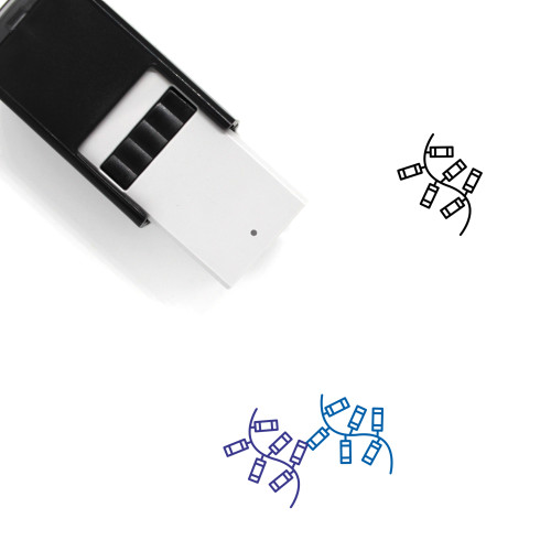 Fireworks Self-Inking Rubber Stamp No. 44