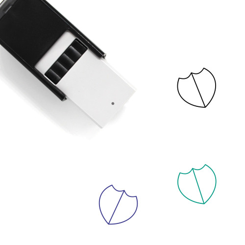 Badge Self-Inking Rubber Stamp No. 72
