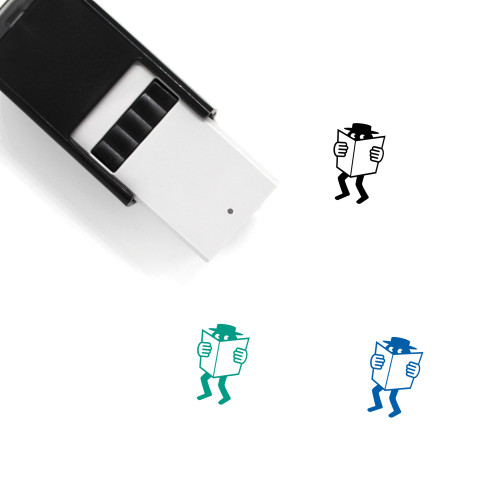 Agent Self-Inking Rubber Stamp No. 1