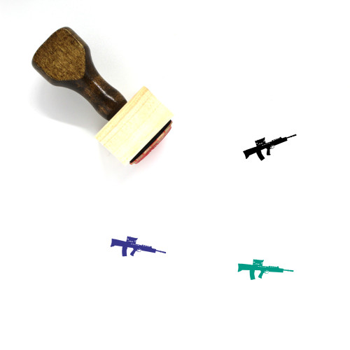 L85a1 Wooden Rubber Stamp No. 1