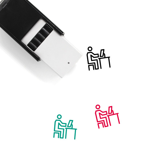 Computer User Self-Inking Rubber Stamp No. 1