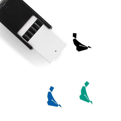 Yoga Self-Inking Rubber Stamp No. 34