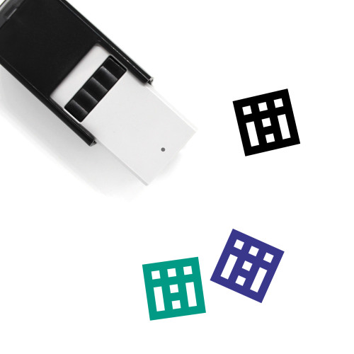 Settlement Self-Inking Rubber Stamp No. 1