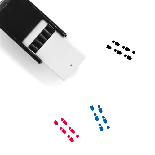 Across Right Self-Inking Rubber Stamp No. 1