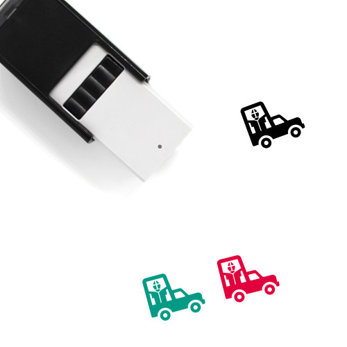 Popemobile Self-Inking Rubber Stamp No. 2