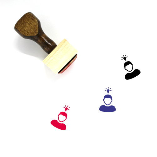 User Wooden Rubber Stamp No. 375