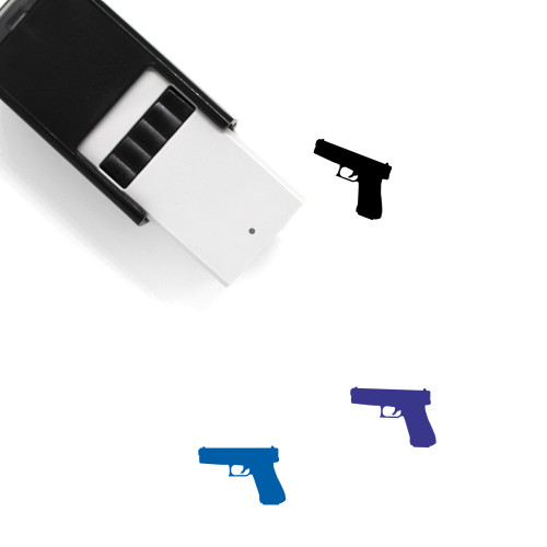 Glock Self-Inking Rubber Stamp No. 1