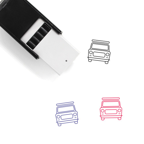Taxi Self-Inking Rubber Stamp No. 10