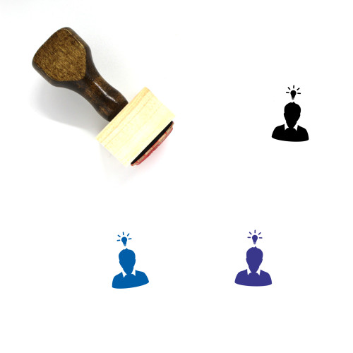 User Wooden Rubber Stamp No. 383