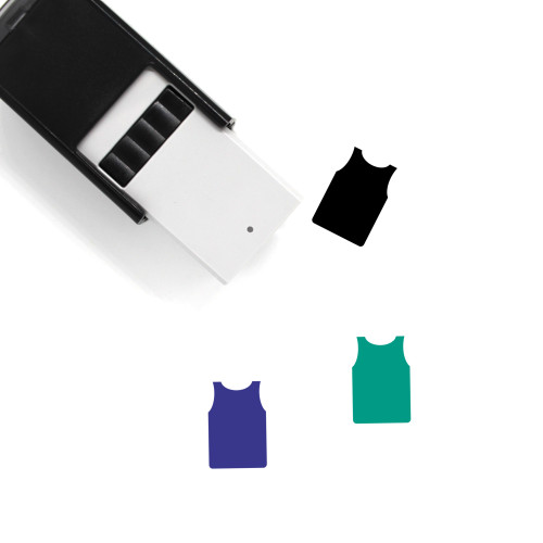 Undershirt Self-Inking Rubber Stamp No. 6