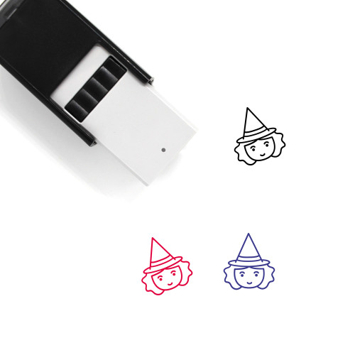 Witch Self-Inking Rubber Stamp No. 13