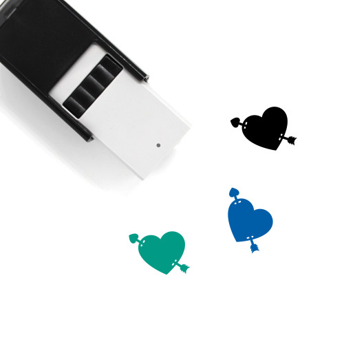 Love Arrow Self-Inking Rubber Stamp No. 5