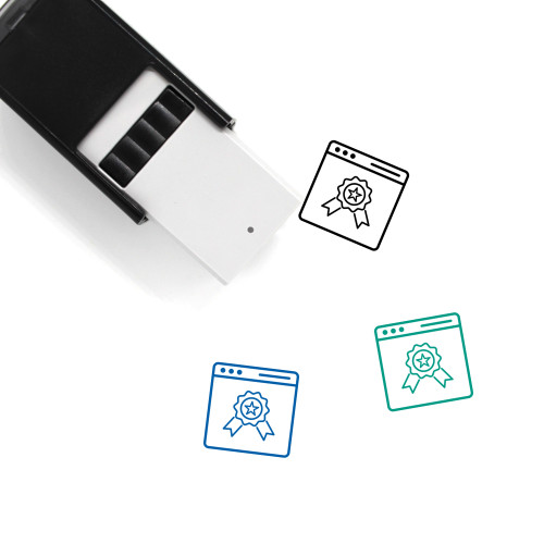 Certificate Self-Inking Rubber Stamp No. 35