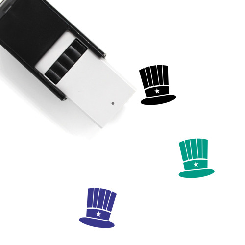 Top Hat Self-Inking Rubber Stamp No. 4