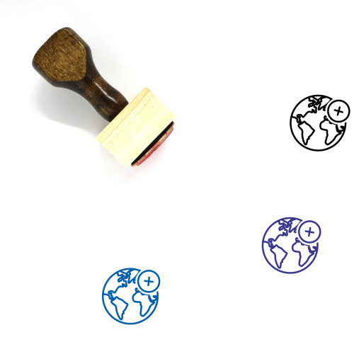 Add Wooden Rubber Stamp No. 37