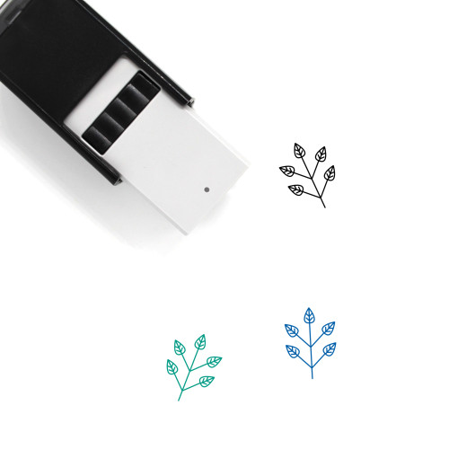 Branch Self-Inking Rubber Stamp No. 2