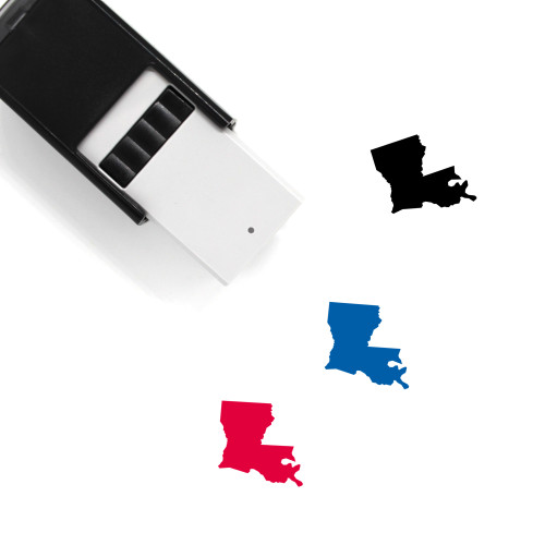 Louisiana Self-Inking Rubber Stamp No. 24