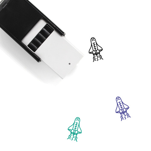 Space Shuttle Self-Inking Rubber Stamp No. 7