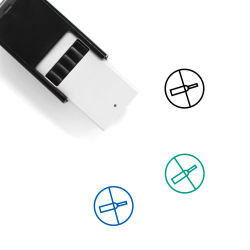 Alcohol Free Self-Inking Rubber Stamp No. 1