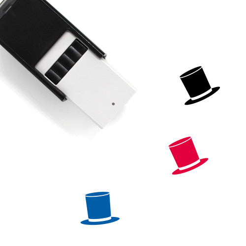 Top Hat Self-Inking Rubber Stamp No. 5