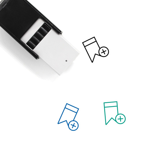 Add Bookmark Self-Inking Rubber Stamp No. 5