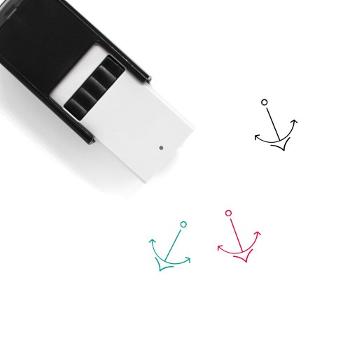 Anchor Self-Inking Rubber Stamp No. 419