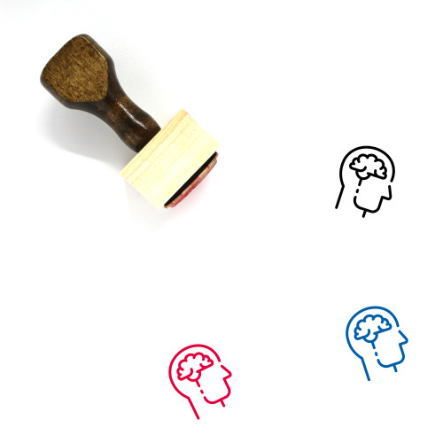 Idea Development Wooden Rubber Stamp No. 1
