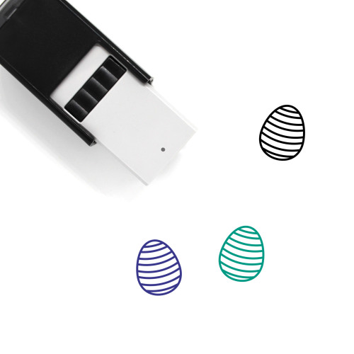 Paschal Egg Self-Inking Rubber Stamp No. 13