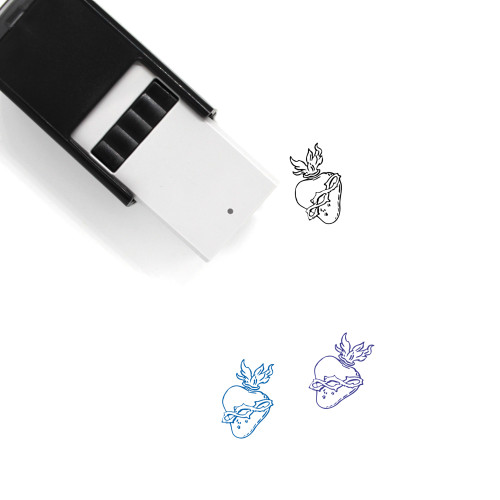 Sacred Heart Self-Inking Rubber Stamp No. 5