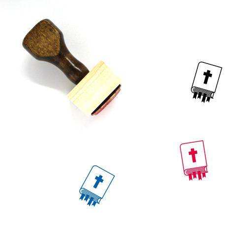 Holy Bible Wooden Rubber Stamp No. 18