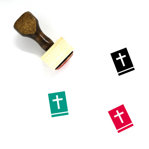 Holy Bible Wooden Rubber Stamp No. 20