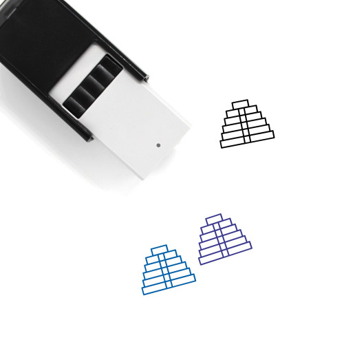 Inca Temple Self-Inking Rubber Stamp No. 2