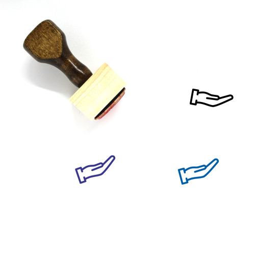 Hand Wooden Rubber Stamp No. 298