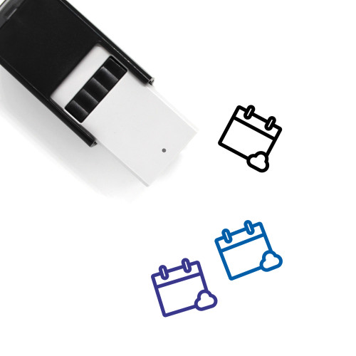 Cloud Event Self-Inking Rubber Stamp No. 1