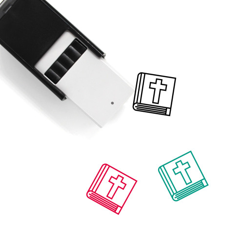 Bible Self-Inking Rubber Stamp No. 68