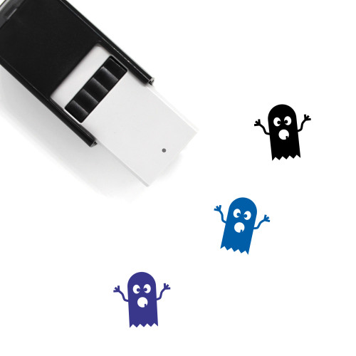 Ghost Self-Inking Rubber Stamp No. 101