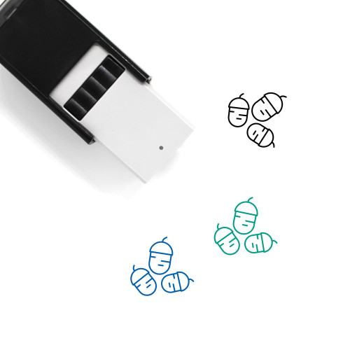 Acorns Self-Inking Rubber Stamp No. 2