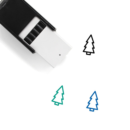 Tree Self-Inking Rubber Stamp No. 110