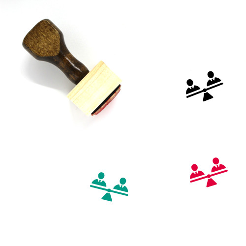 Human Rights Wooden Rubber Stamp No. 3