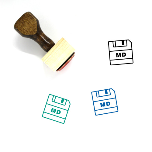 Save MD Wooden Rubber Stamp No. 1