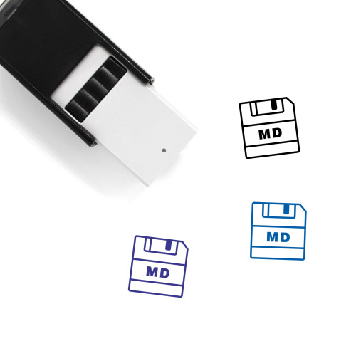 Save MD Self-Inking Rubber Stamp No. 1