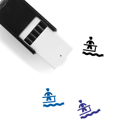 Pier Self-Inking Rubber Stamp No. 1