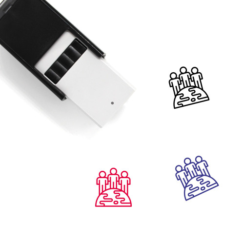 World's Population Self-Inking Rubber Stamp No. 1