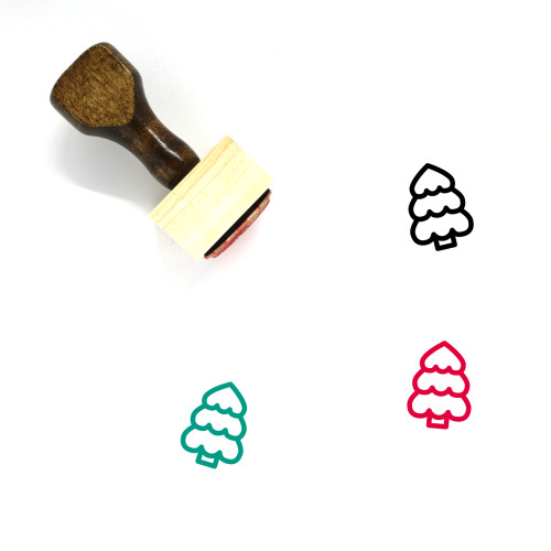 Tree Wooden Rubber Stamp No. 112