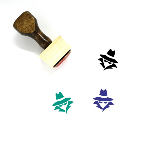 Anonymous Wooden Rubber Stamp No. 2