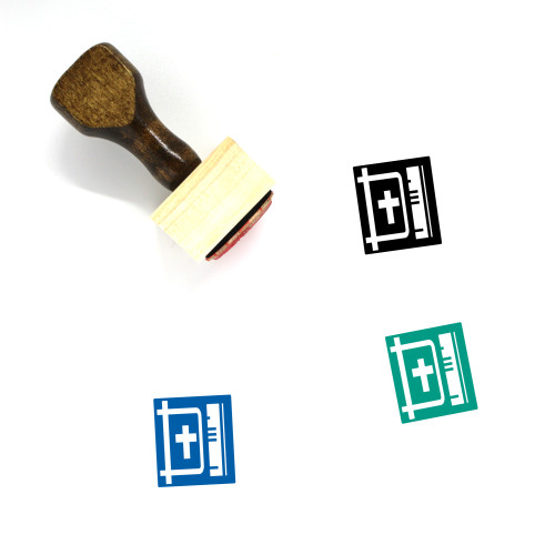 Holy Bible Wooden Rubber Stamp No. 21