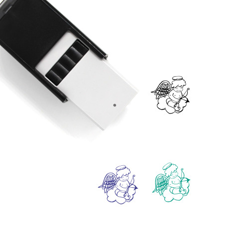 Angel Self-Inking Rubber Stamp No. 88