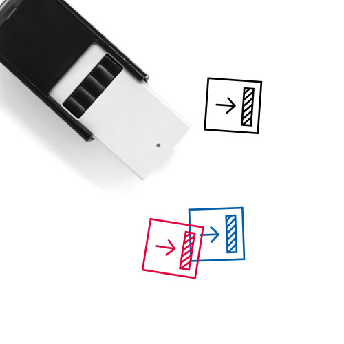 Align To Right Self-Inking Rubber Stamp No. 1